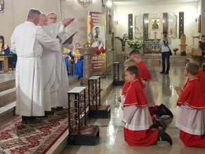 Błogosławieństwo Służby Liturgicznej 18 września 2018