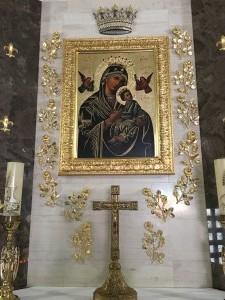 Róże wotywne dla Matki Bożej