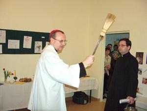 Wizytacja parafii 15.03.2004