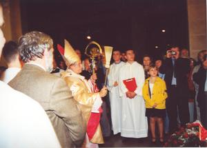 Centralne uroczystości Wielkiego Jubileuszu 2000 w parafii - 5 X 2000