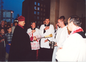 Uroczystość Odpustu Parafialnego - 10 X 2001.