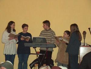 Świąteczne spotkanie grup parafialnych - 25.01.2004