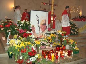 Żałobna Eucharystia za Papieża - 8 IV 2005