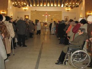 Parafialny Dzień Chorego, 13 II 2011 r.