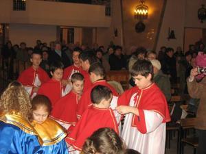 Przyjęcie do służby liturgicznej, 1 II 2008