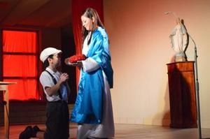 Przedstawienie o Św. Maksymilianie - goście z Meksyku 19 VII 2015
