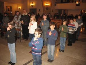 Przyjęcie do służby liturgicznej, 15 I 2010