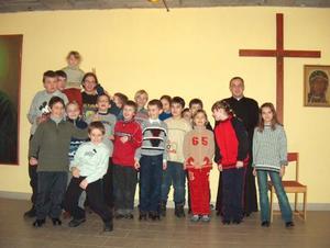 Opłatek ministrantów i bielanek - 15.01.2004