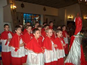 Zakończenie roku służb liturgicznych - 24 VI 04 - 2004