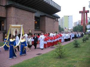 Rocznica konsekracji kościoła, 30 V 2007