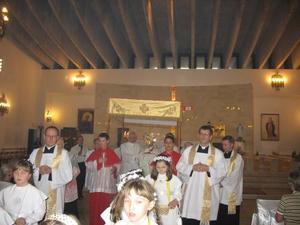 9 rocznica konsekracji kościoła i jubileusz 25 lecia kapłaństwa proboszcza parafii - 2008