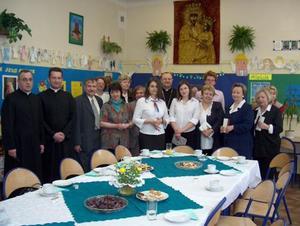 Wizyta Biskupa w gimnazjum nr 6 - 29.04.2004
