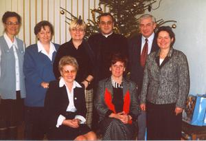 Świąteczne spotkania dyrektorów szkół i nauczycieli z proboszczem - 2002