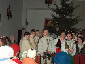 Świąteczny koncert zespołu góralskiego ZAWATERNIK - 28 grudnia 2003r.