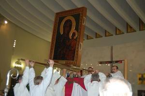Nawiedzenie Obrazu Matki Bożej Jasnogórskiej, 6 X 2014