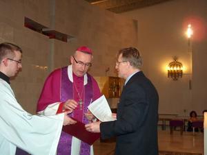 Kanoniczna wizytacja parafii, 22 III 2009