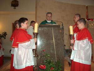 Podsumowanie rocznej służby ministrantów i bielanek - 2003