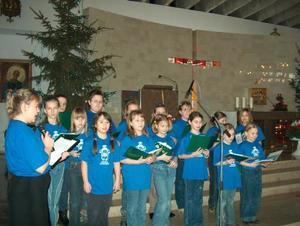 Koncert kolędowy scholi dziecięcej - 25.01.2004