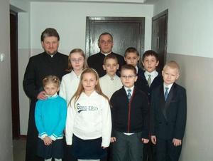 Przyjęcie do bielanek i ministrantów 26.02.2006