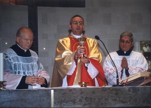 Nawiedzenie parafii przez obraz Jezusa Miłosiernego w dniach 20-21 X 1999 w ramach przygotowań do Roku Jubileuszowego 2000